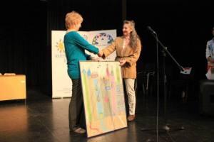 2015, predaja mog deecjeg crteza-pastela, Lidija Senicar