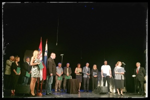 Nagrajenci, Atelje 212 Beograd, 13.06.2016 Foto: Irena Herak