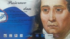 Plakat Presernov dan kovin 2018